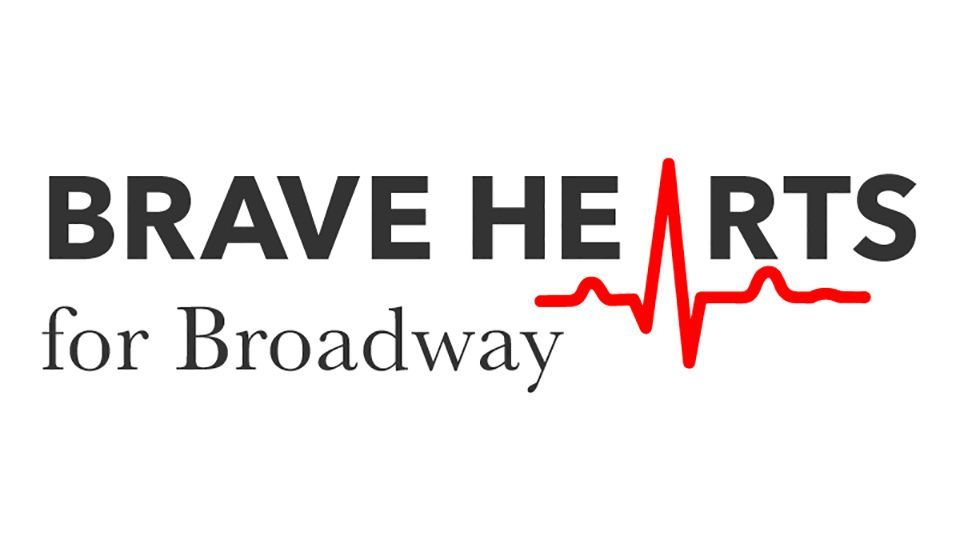 Brave Hearts for Broadway Logo